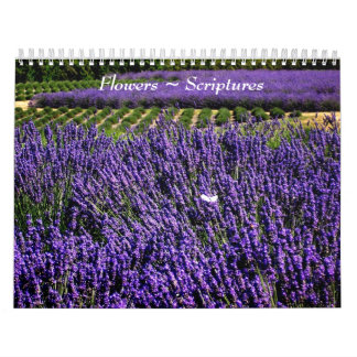 Flowers and Scriptures Calendar