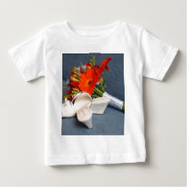 Flowers and Shoes Baby T-Shirt