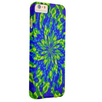 Flowers and Swirls Abstract iPhone 6 Plus Case
