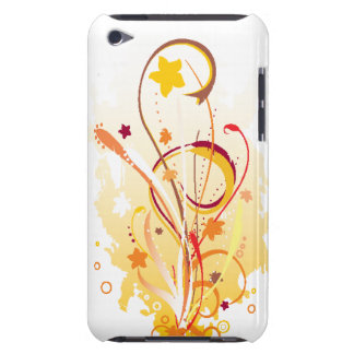 Flowers and Swirls iPod Touch Case