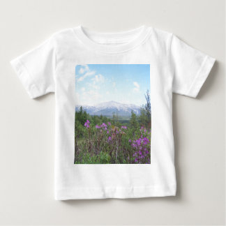 Flowers and the Mountain T-shirt