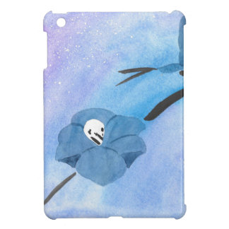 Flowers And Tiny Skull Case For The iPad Mini