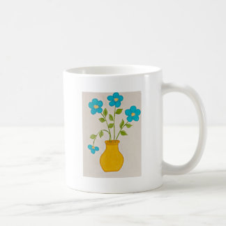 Flowers and Vase Mugs