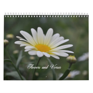 Flowers and Verses Calendar