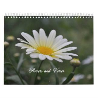 Flowers and Verses Calendar