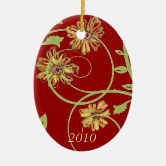 Flowers and Vines Ornament