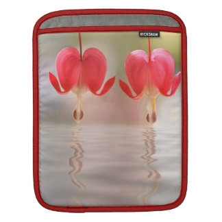 Flowers and Water Reflection Sleeves For iPads