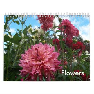 Flowers Any Year Calendar