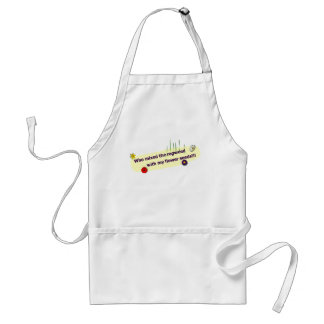 Flowers Adult Apron