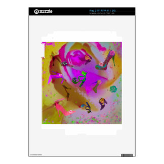 Flowers are everywhere during the season iPad 2 skins