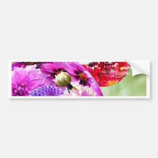 Flowers Art Bumper Stickers