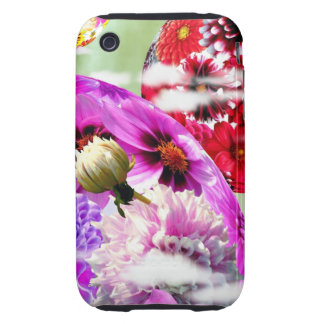 Flowers Art iPhone 3 Tough Cases