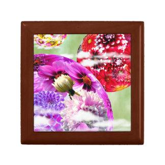 Flowers Art Keepsake Box