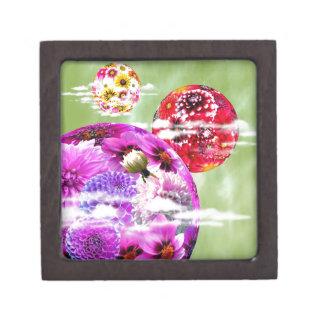 Flowers Art Premium Jewelry Boxes
