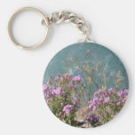 Flowers at Falls Key Chains