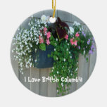 Flowers at the Boathouse II Christmas Tree Ornament