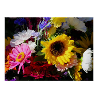 Flowers at the farmers market | posters