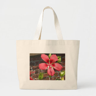 Flowers at Tryon Palace Canvas Bags