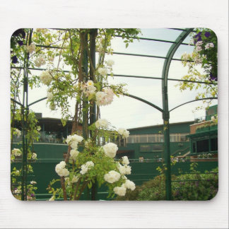 Flowers at Wimbledon mouse pad