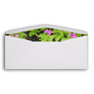 flowers-background envelope