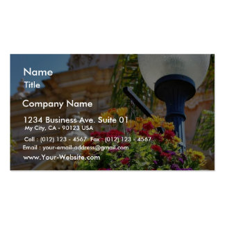 Flowers Balboa Parks Business Cards