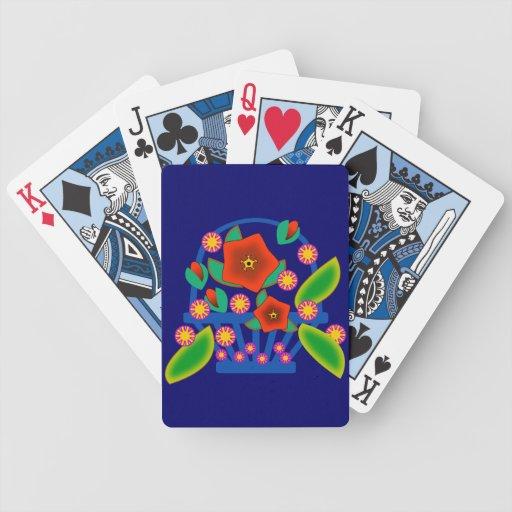 Flowers Basket Card Decks