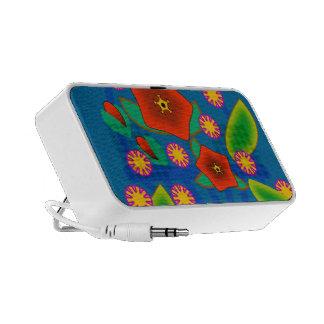 Flowers Basket Mini Speakers