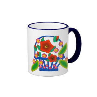 Flowers Basket Mug