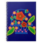 Flowers Basket Notebooks