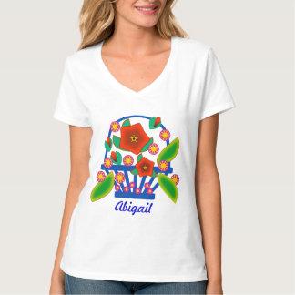 Flowers Basket T-Shirt