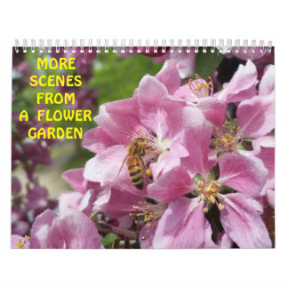 Flowers Bees and Butterflies Calendar