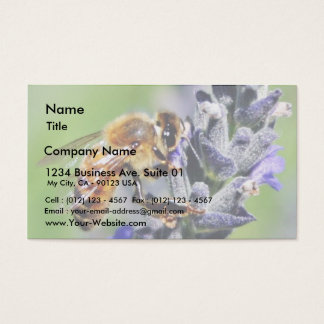 Flowers Bees Business Card