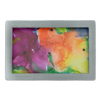 Flowers Belt Buckle
