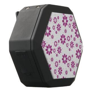 flowers black bluetooth speaker