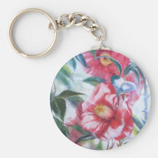 Flowers Blooming Keychain