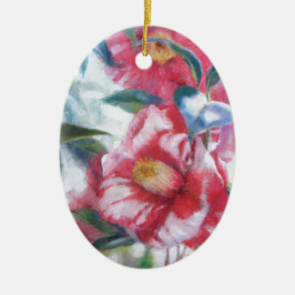 Flowers Blooming Christmas Ornaments
