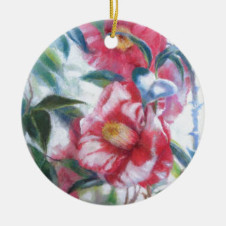 Flowers Blooming Christmas Ornament