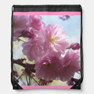 Flowers Blossoms Flowers Almond Branches Backpack