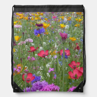 Flowers Blossoms Flowers Spring Pattern Cinch Bag