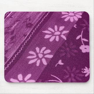 Flowers Blossoms Vines Purple Pink Shower Party Mouse Pad