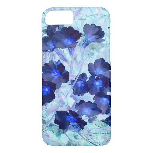 Flowers blue iPhone 8/7 case