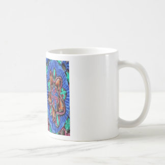 Flowers Blue from Temple Walls Coffee Mug