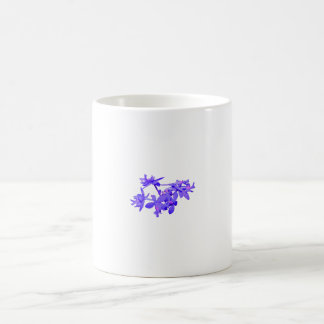 Flowers Blue Tinted Ground Orchid Classic White Coffee Mug