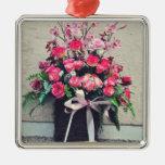 Flowers bouquet christmas ornaments