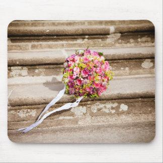 Flowers bouquet mouse pad
