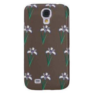 flowers brown 1 galaxy s4 cover