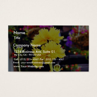 Flowers Buds Stems Business Card