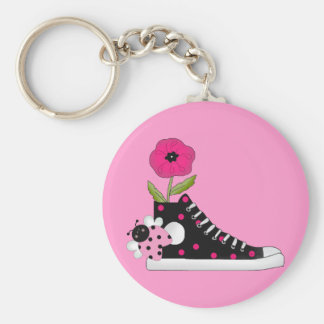 Flowers Bugs Sneakers All Products Kids Stuff Keychain