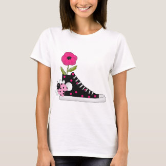 Flowers Bugs Sneakers All Products Kids Stuff T-Shirt