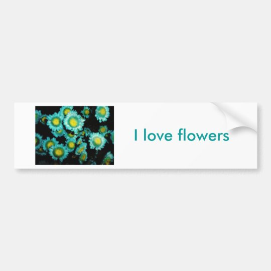 Flowers Bumper Sticker